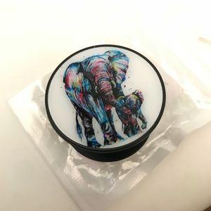 Pop Phone Socket Elephants Grip Prop Mobile Stand